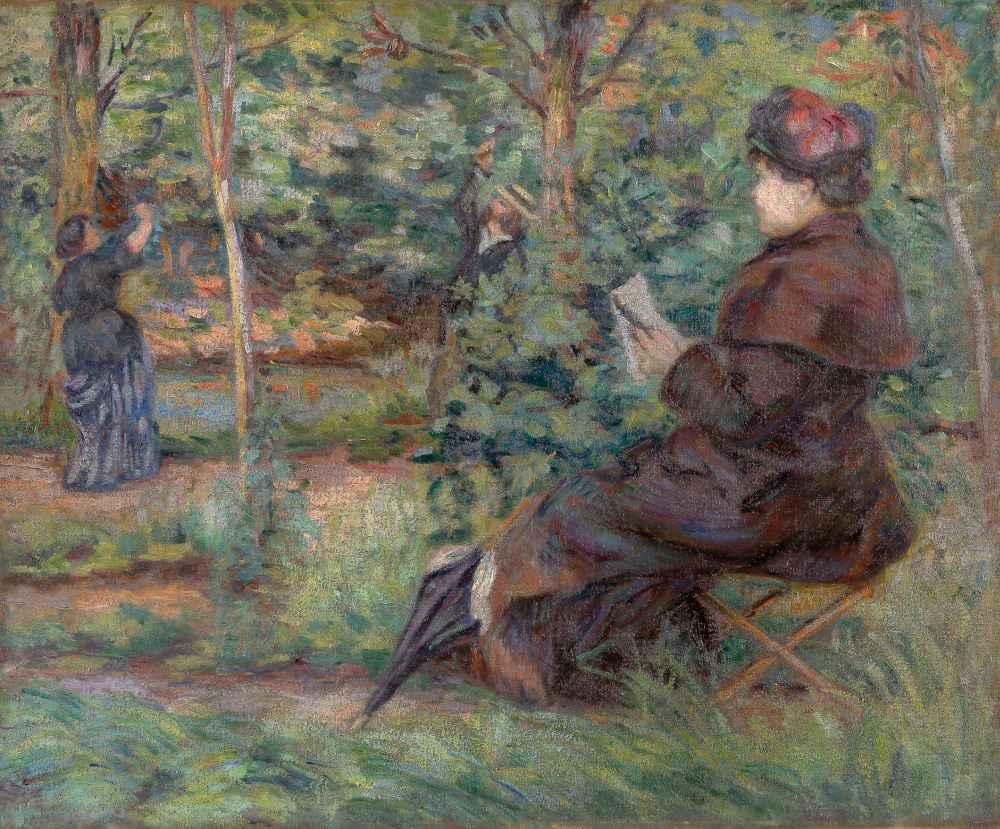 In the garden - Armand Guillaumin