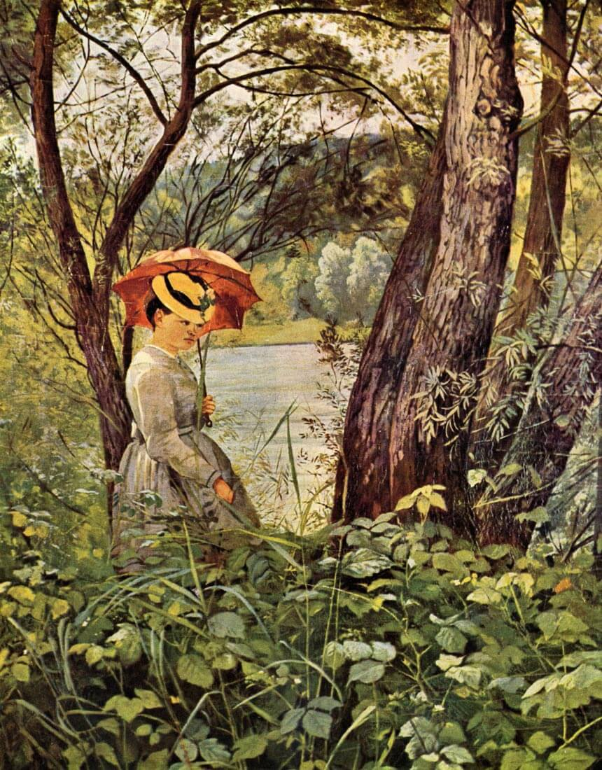 In the sunshine - Hans Thoma