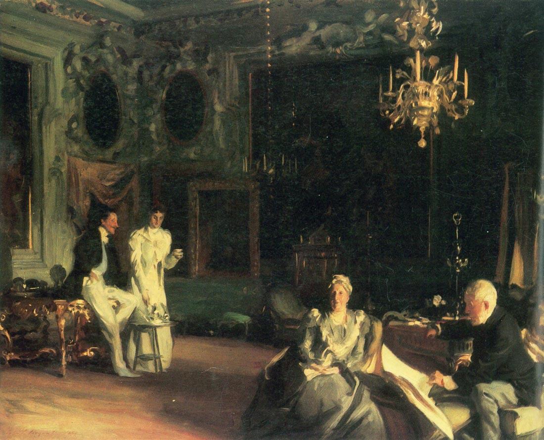 Interior in Venice - John Singer Sargent
