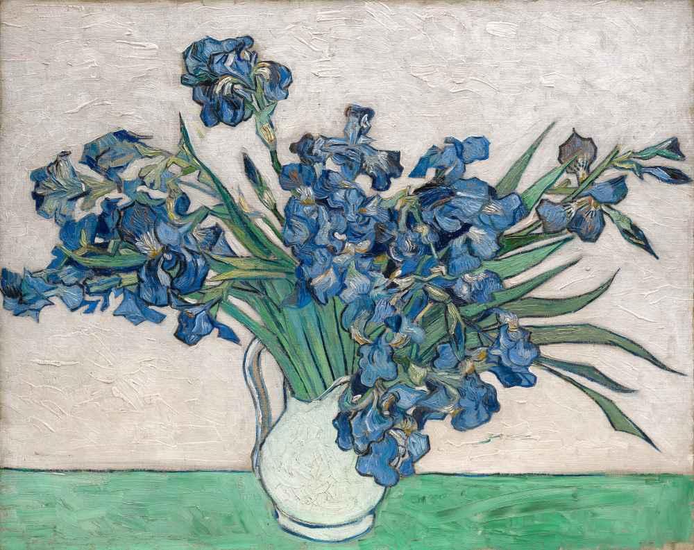 Irises 3 - Vincent van Gogh