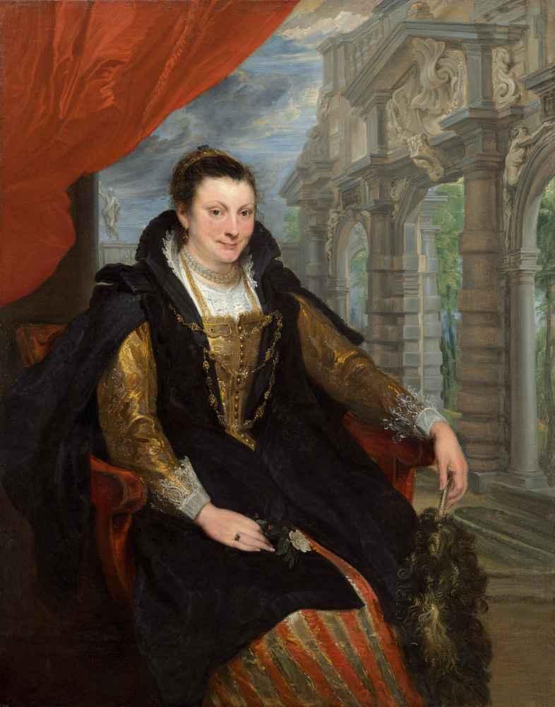 Isabella Brant - Antoon van Dyck