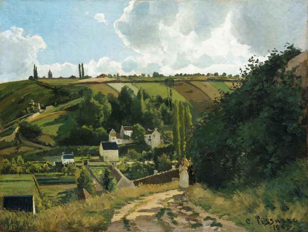 Jalais Hill, Pontoise - Camille Pissarro