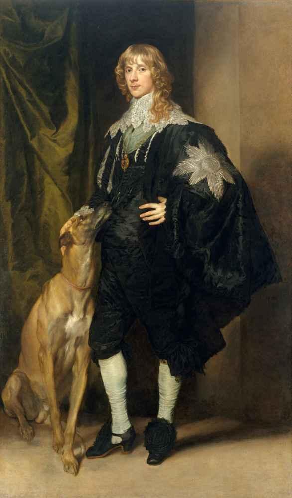 James Stuart (1612–1655), Duke of Richmond and Lennox - Antoon van Dyc