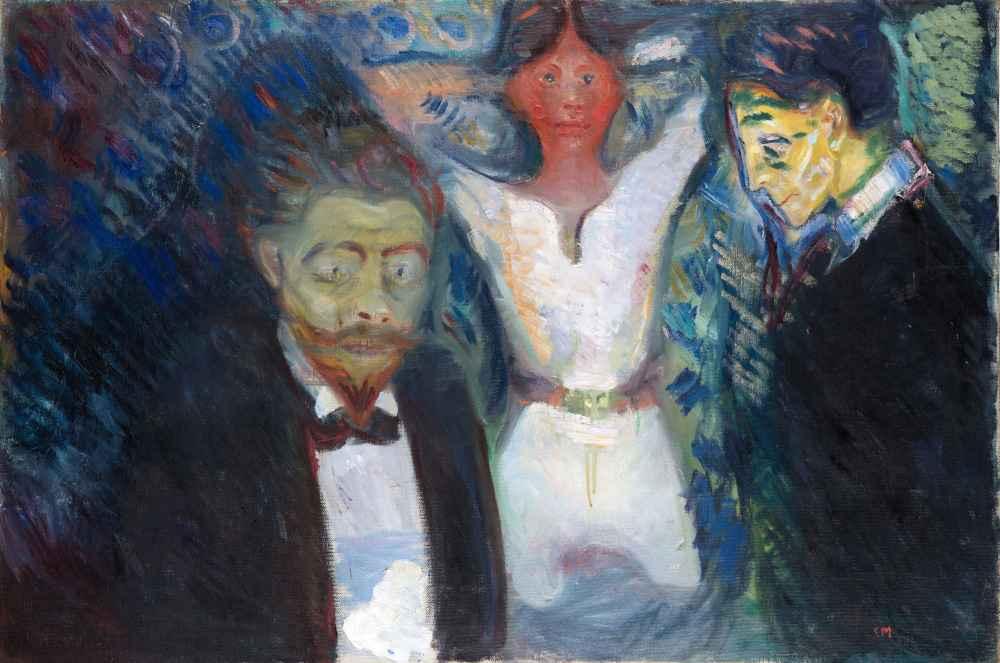 Jealousy - Edward Munch