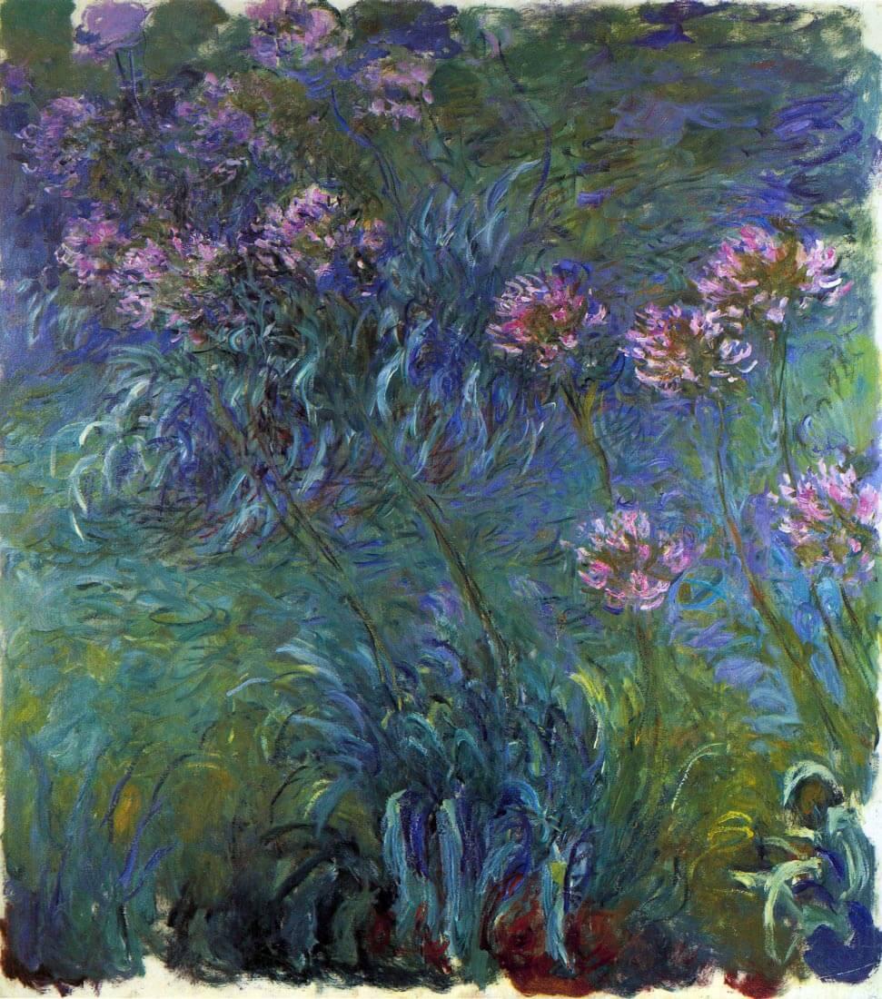 Jewelry lilies - Monet