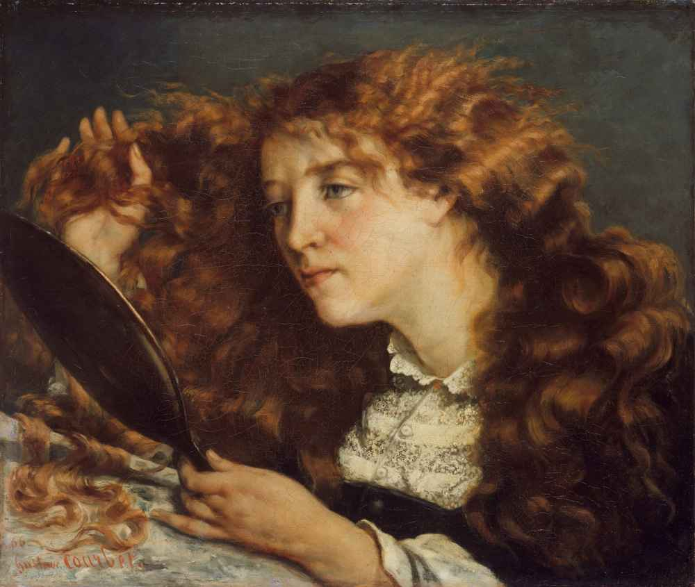 Jo, La Belle Irlandaise - Gustave Courbet