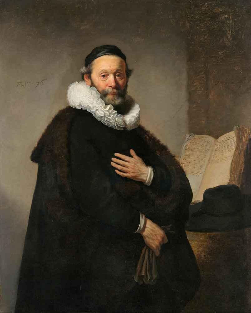 Johannes Wtenbogaert - Rembrandt Harmenszoon van Rijn