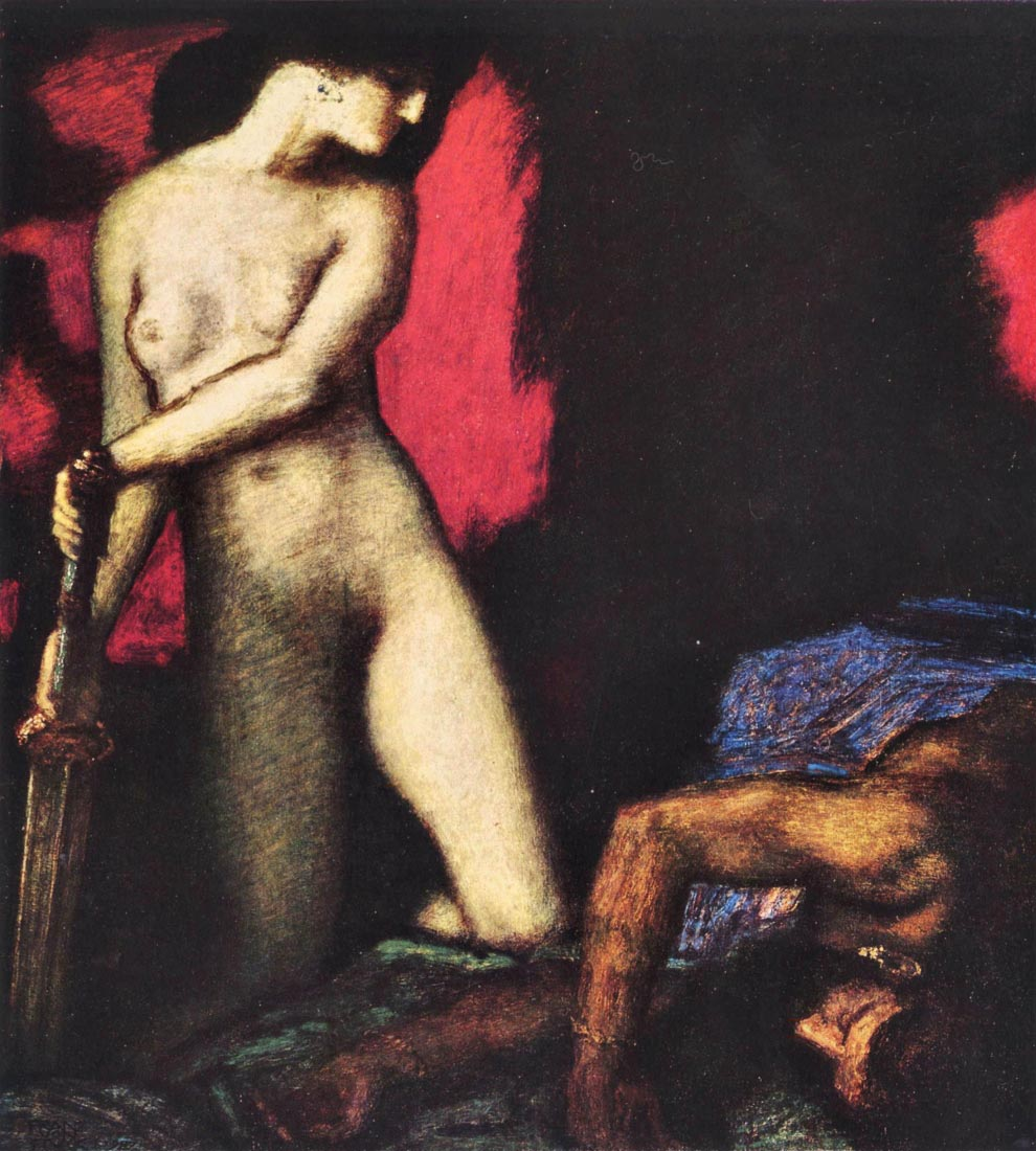 Judith and Holofernes - Franz von Stuck