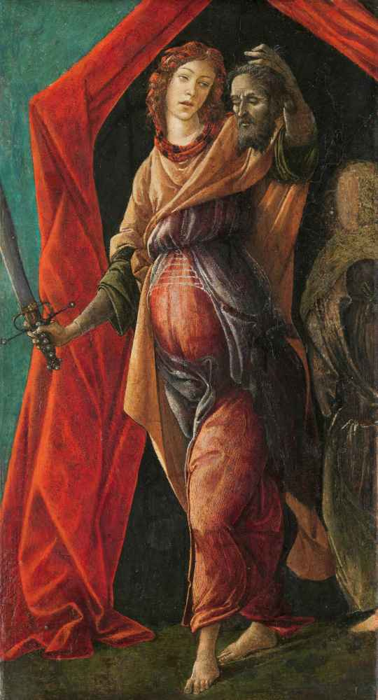 Judith with the Head of Holofernes - Sandro Botticelli