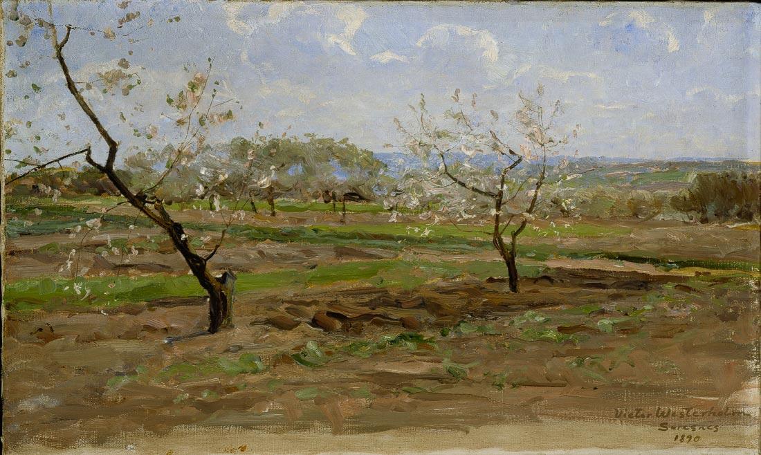 Kukkiviahedelmapuita - Victor Westerholm
