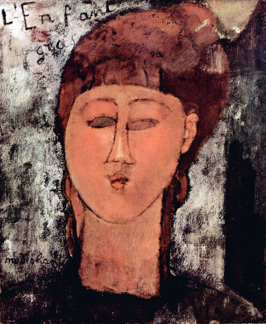 L Enfant Gras - Modigliani