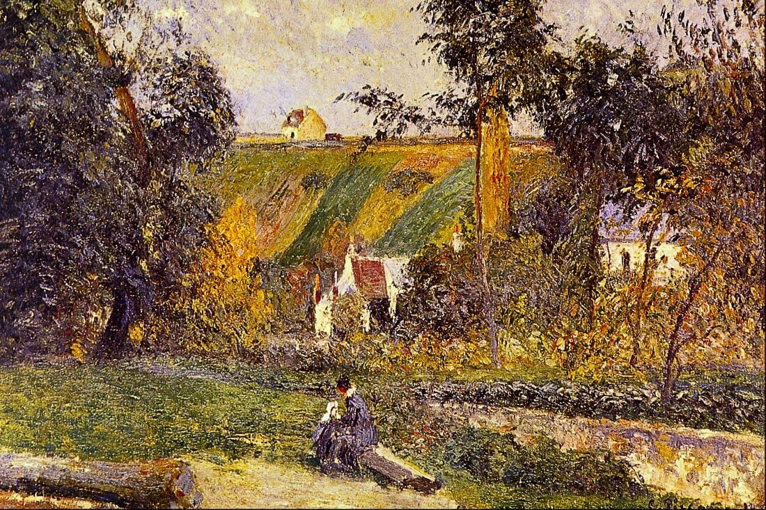 L Hermitage Tontiose - Pissarro