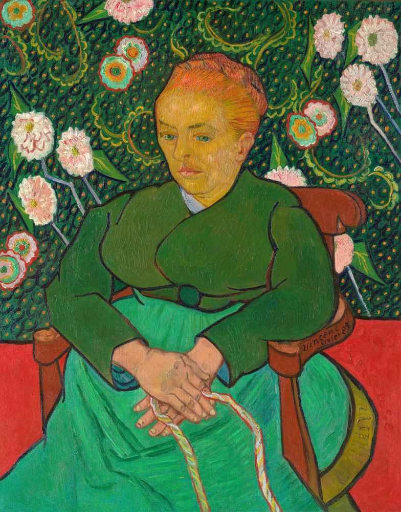 La Berceuse (Woman Rocking a Cradle, Augustine-Alix Pellicot Roulin, 1