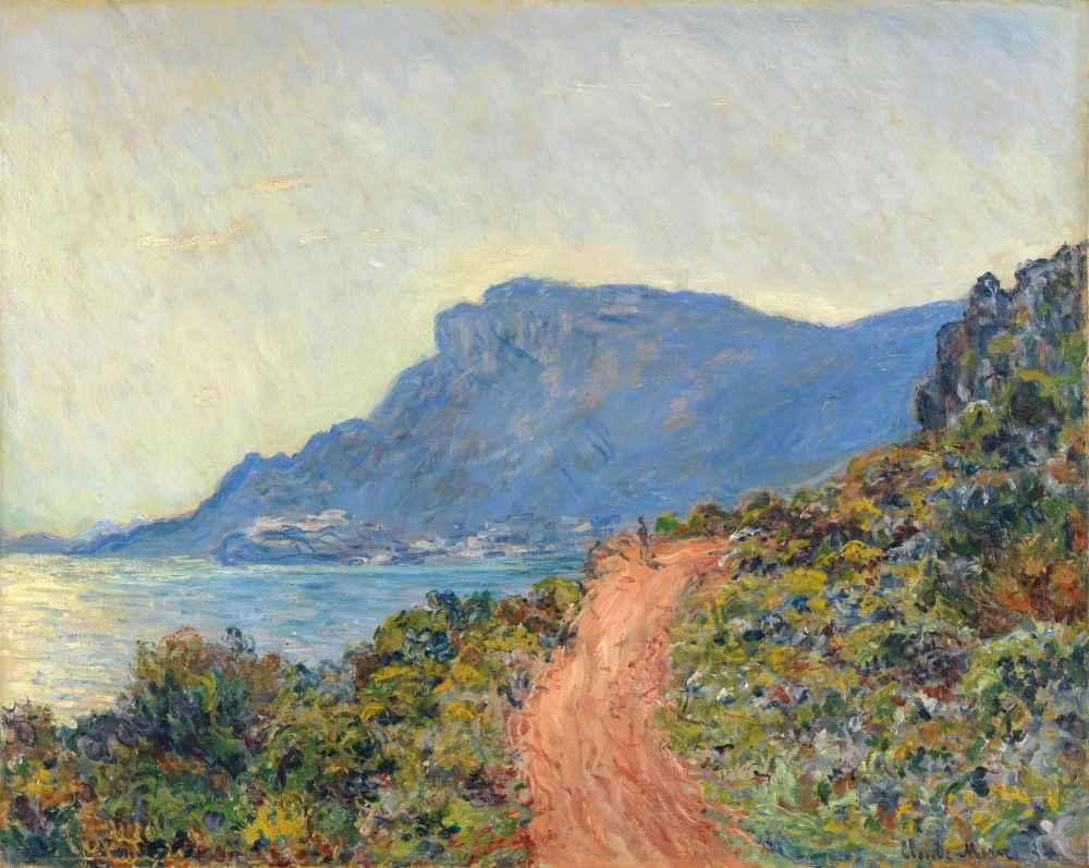 La Corniche near Monaco - Claude Monet