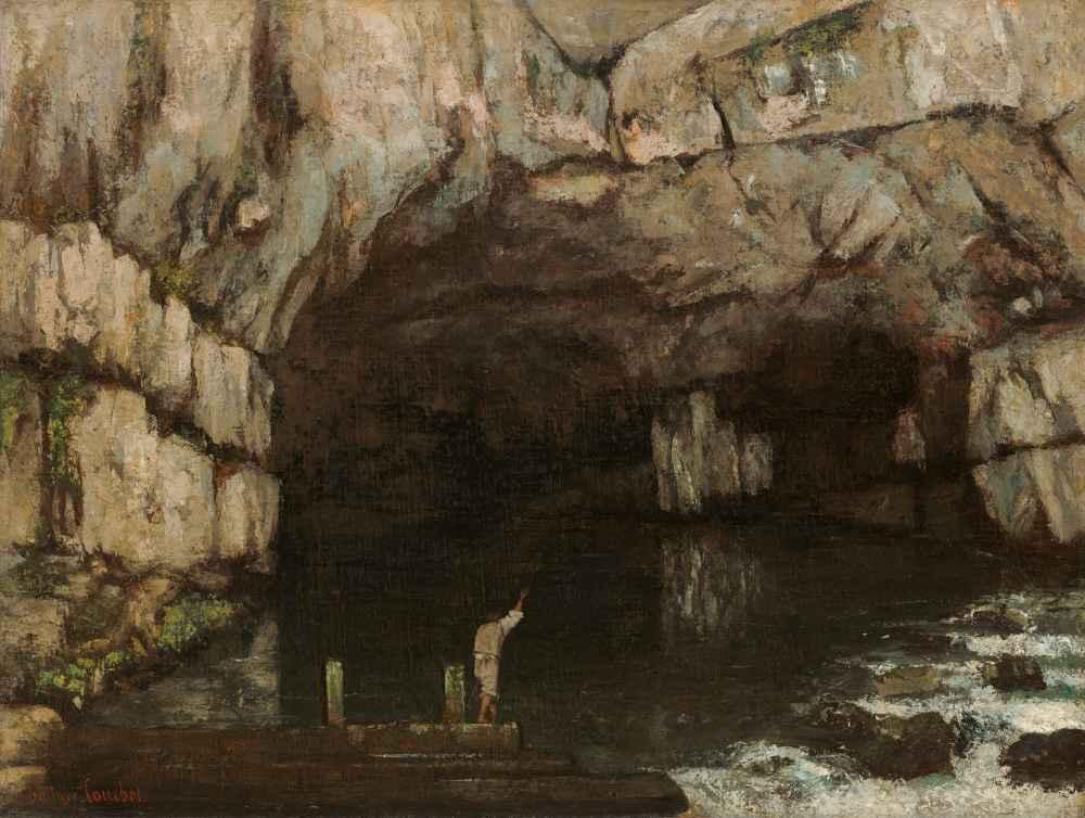 La Grotte de la Loue - Gustave Courbet