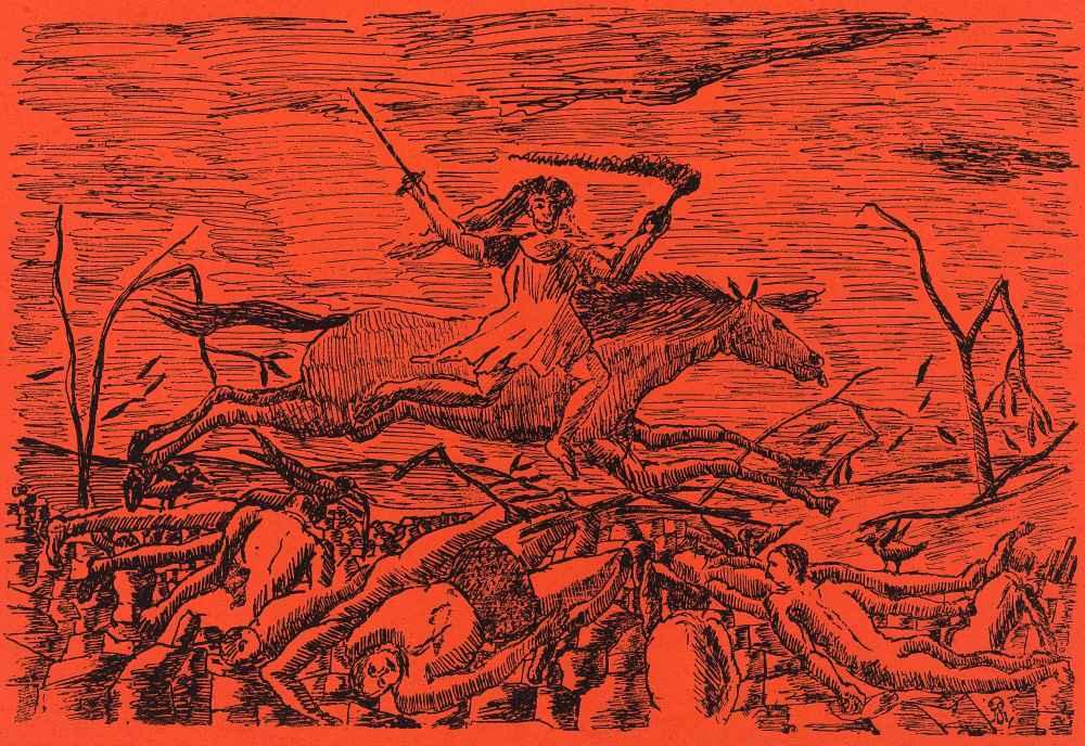 La Guerre (The War) - Henri Rousseau