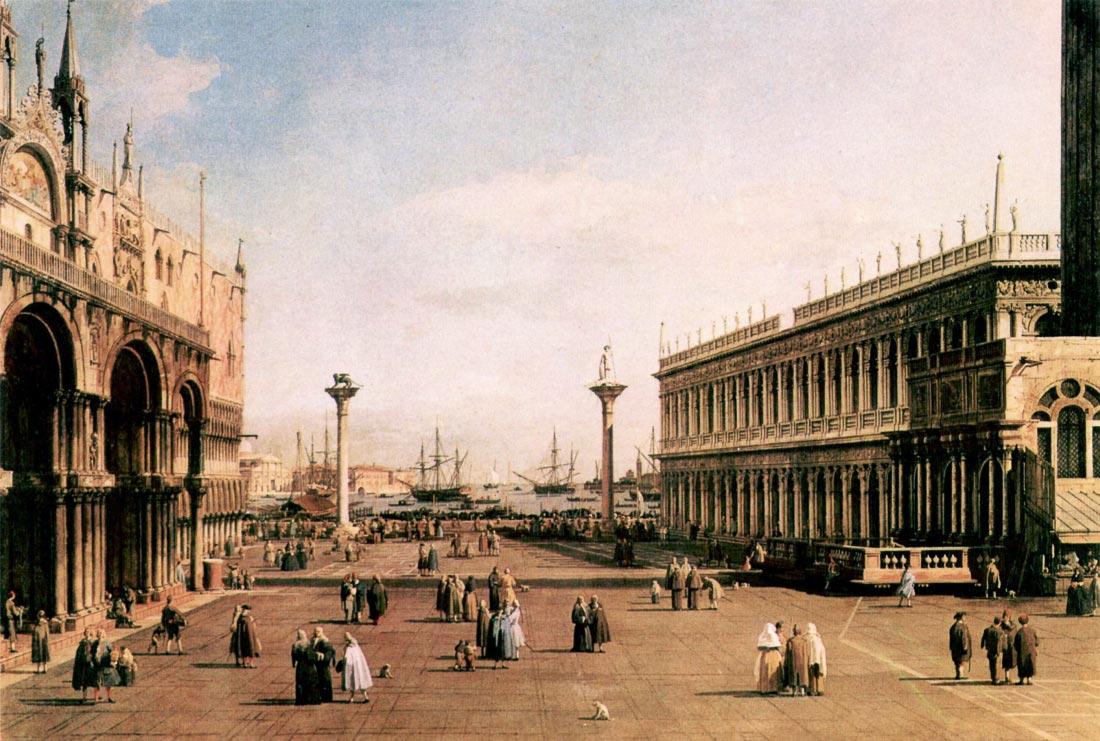 La Piazza - Canaletto