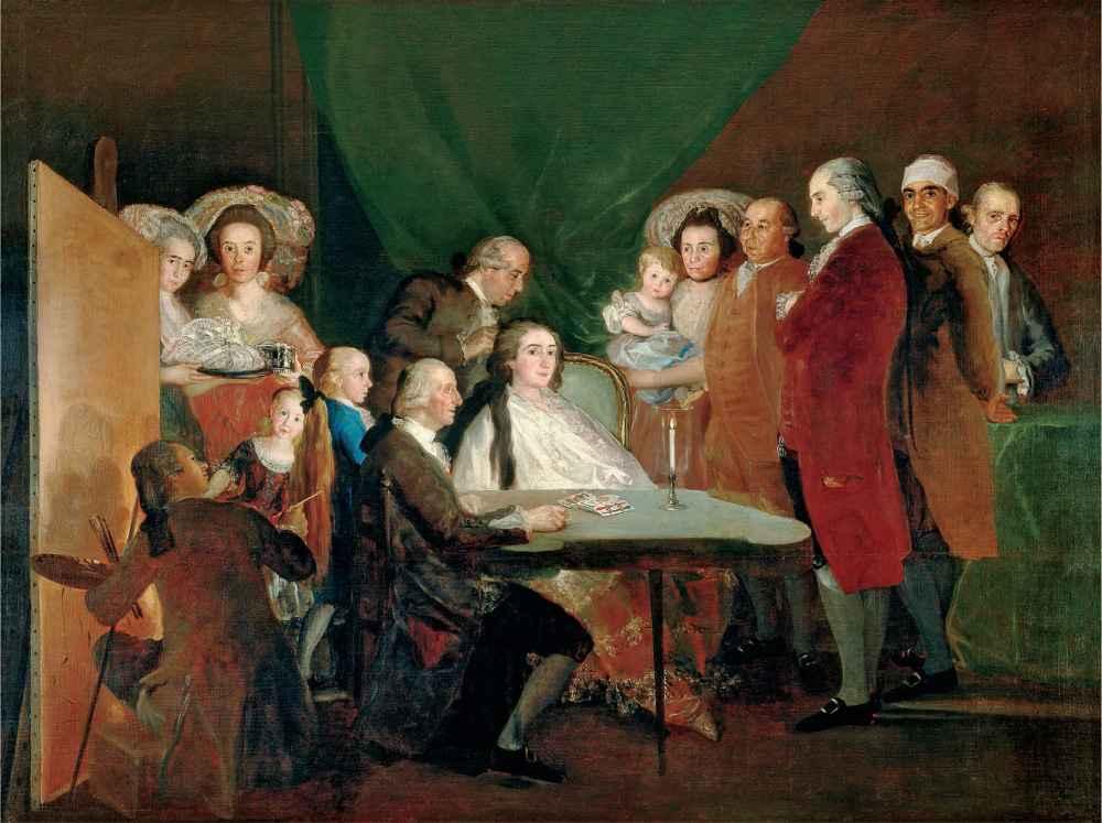 La famille de l infant Don Louis 1783 2 - Francisco Goya