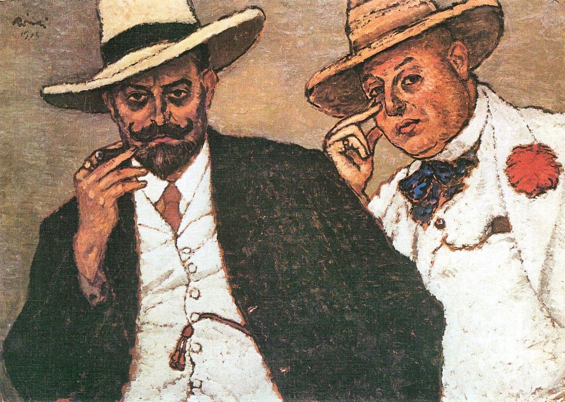 Lajos und Odon - Joseph Rippl-Ronai