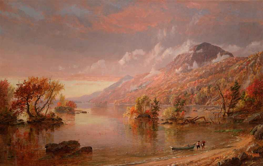 Lake George - Jasper Francis Cropsey