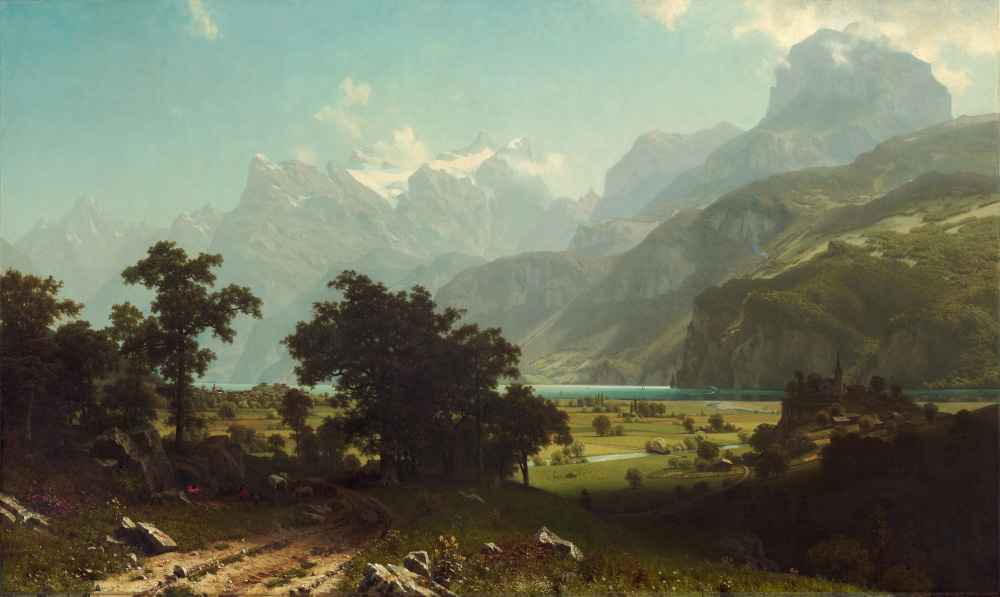 Lake Lucerne - Albert Bierstadt