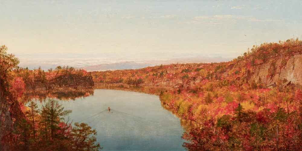 Lake Shawangunk - Worthington Whittredge