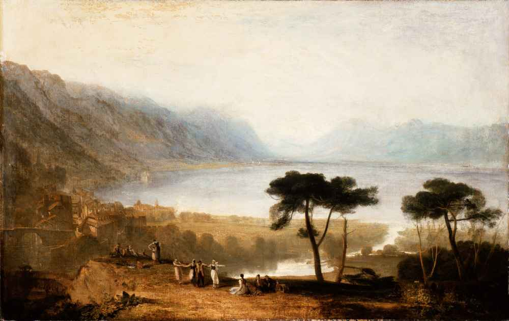 Lake of Geneva from Montreux - Joseph Mallord William Turner