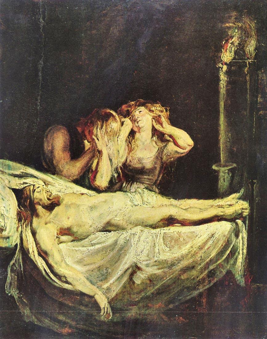 Lamentation of Christ - Rubens