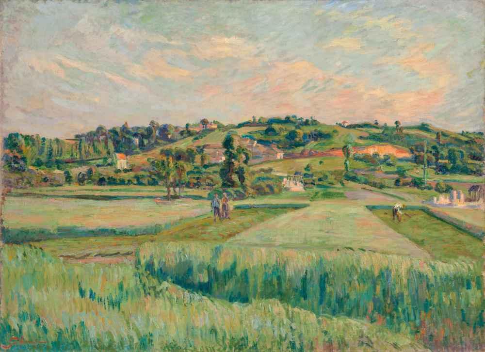 Landscape, Île-de-France - Armand Guillaumin