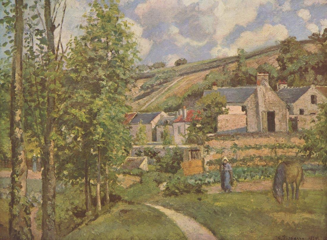 Landscape at Pontoise 2 - Pissarro