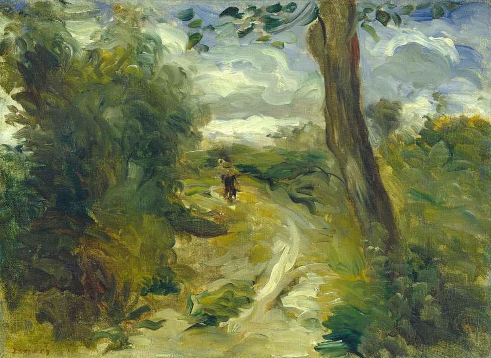 Landscape between Storms - Auguste Renoir
