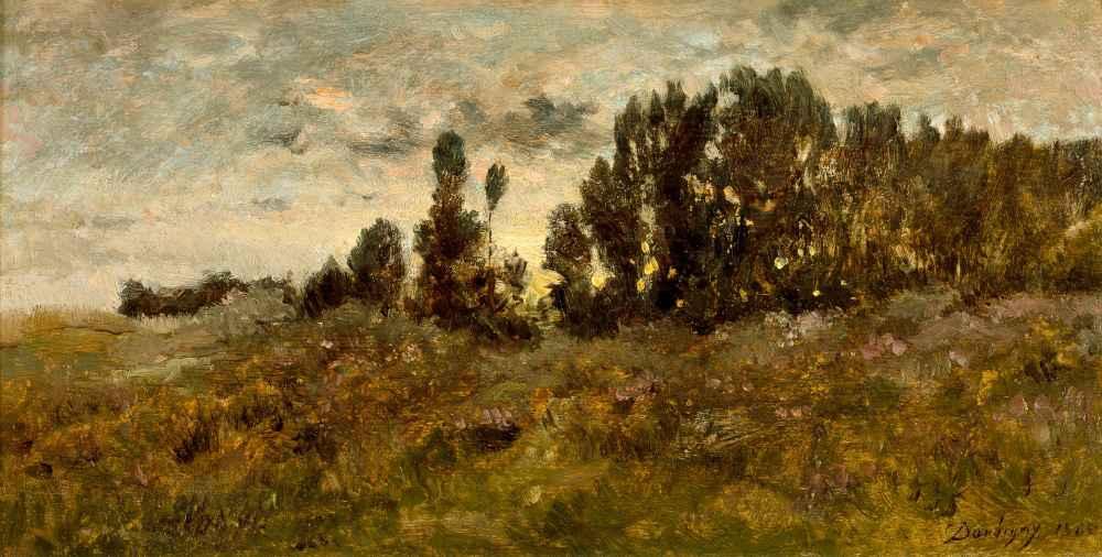 Landscape - Charles-Francois Daubigny