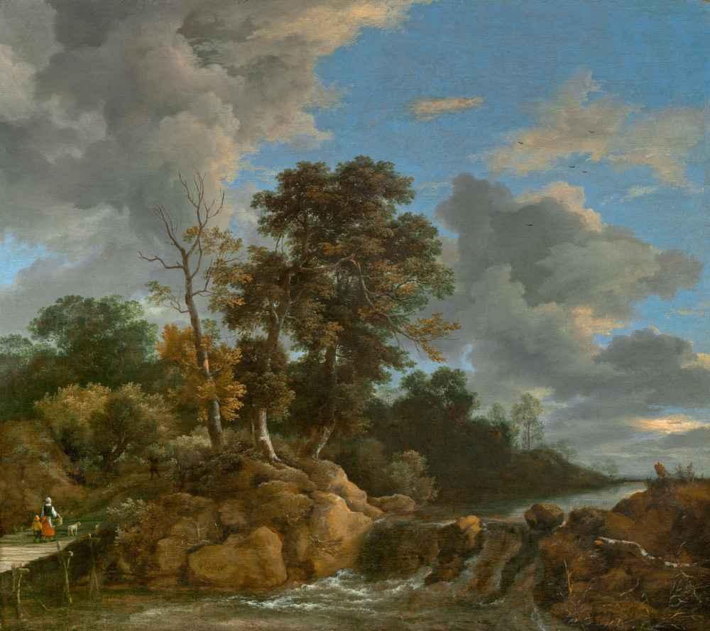 Landscape - Jacob van Ruisdael