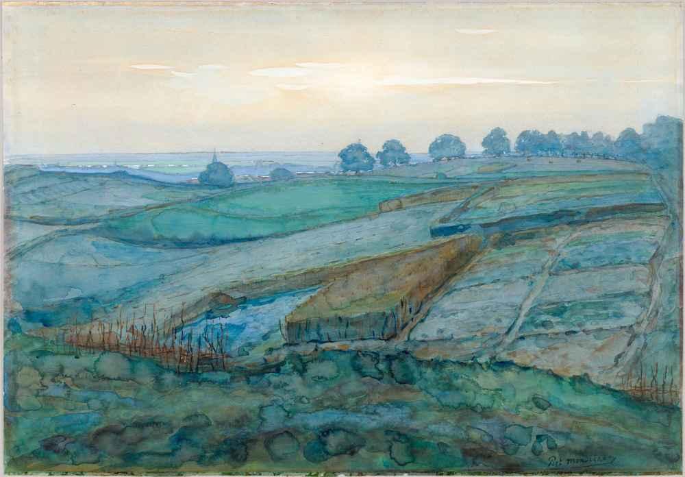 Landscape near Arnhem - Piet Mondrian