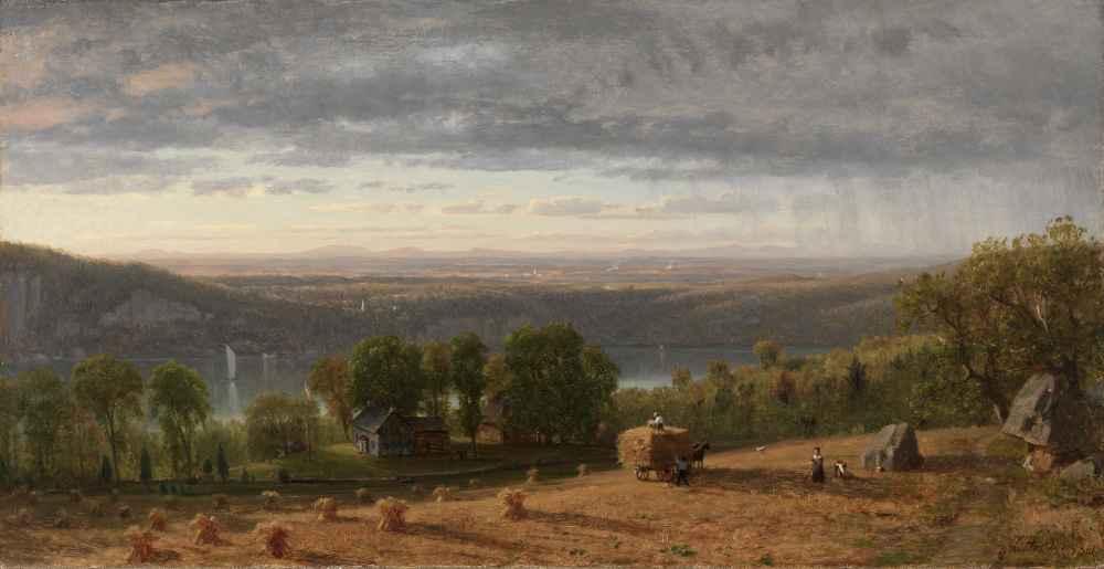 Landscape with Haywain - Worthington Whittredge