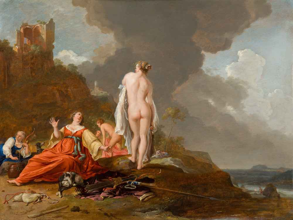 Landscape with Nymphs (and Diana), 1647 - Bartholomeus Breenbergh
