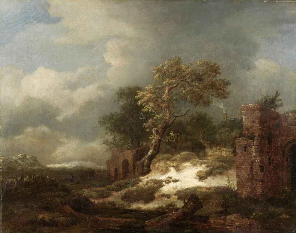 Landscape with Ruins - Jacob van Ruisdael