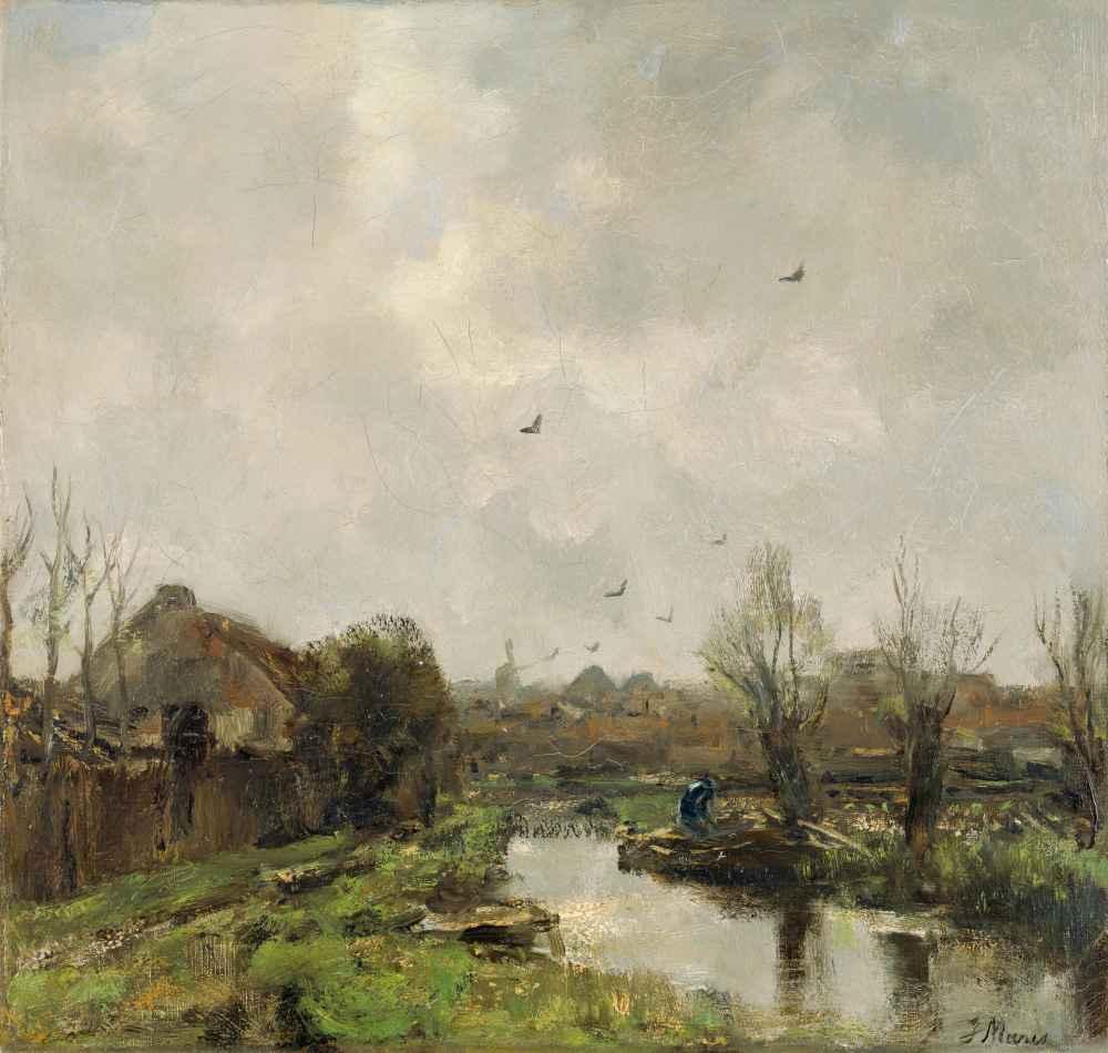 Landschap in de omgeving van Den Haag - Matthijs Maris