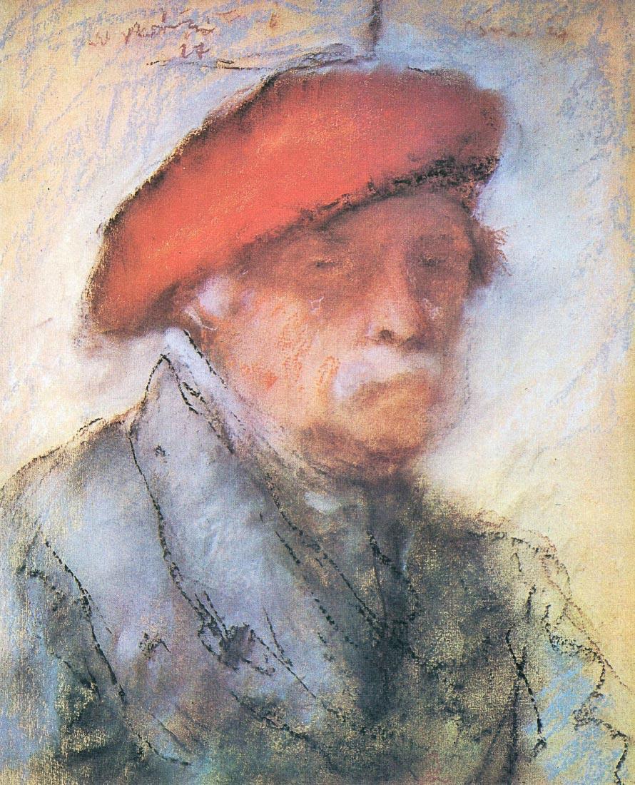 Last self portrait - Joseph Rippl-Ronai