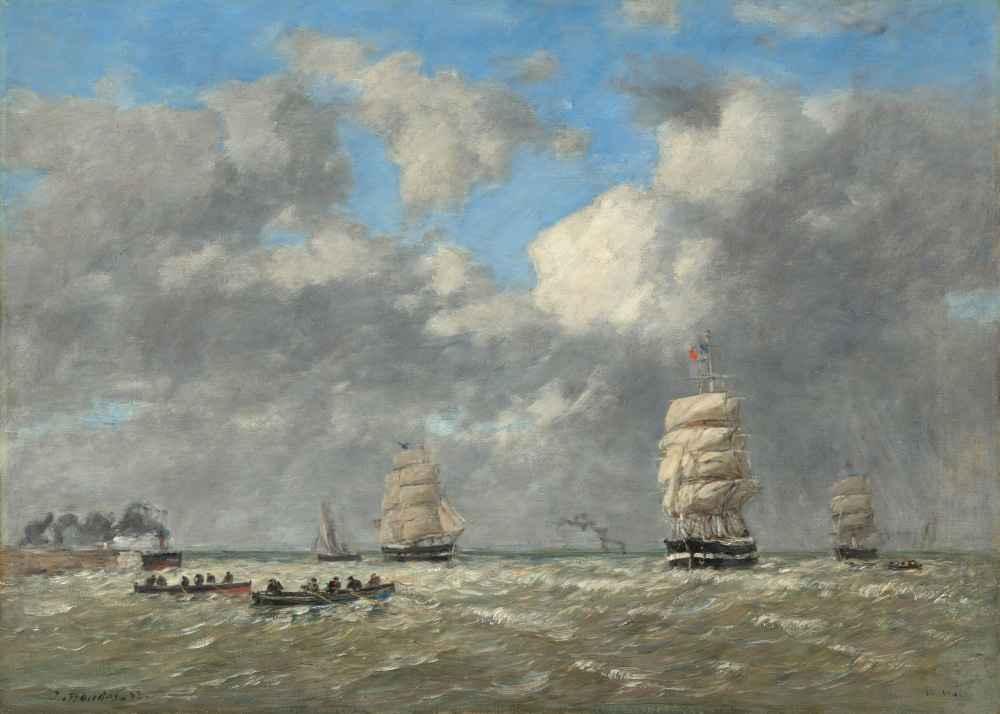 Le Havre - Eugene Boudin