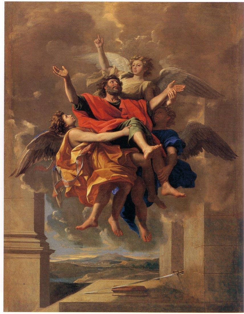 Le Ravissement de Saint Paul 1650 - Poussin