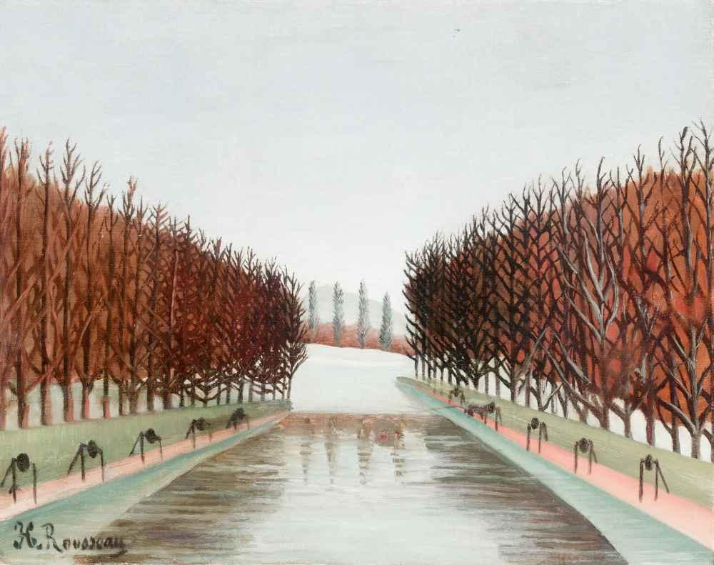 Le canal - Henri Rousseau