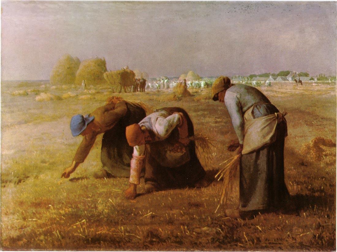 Les Glaneuses 1857 - Millet