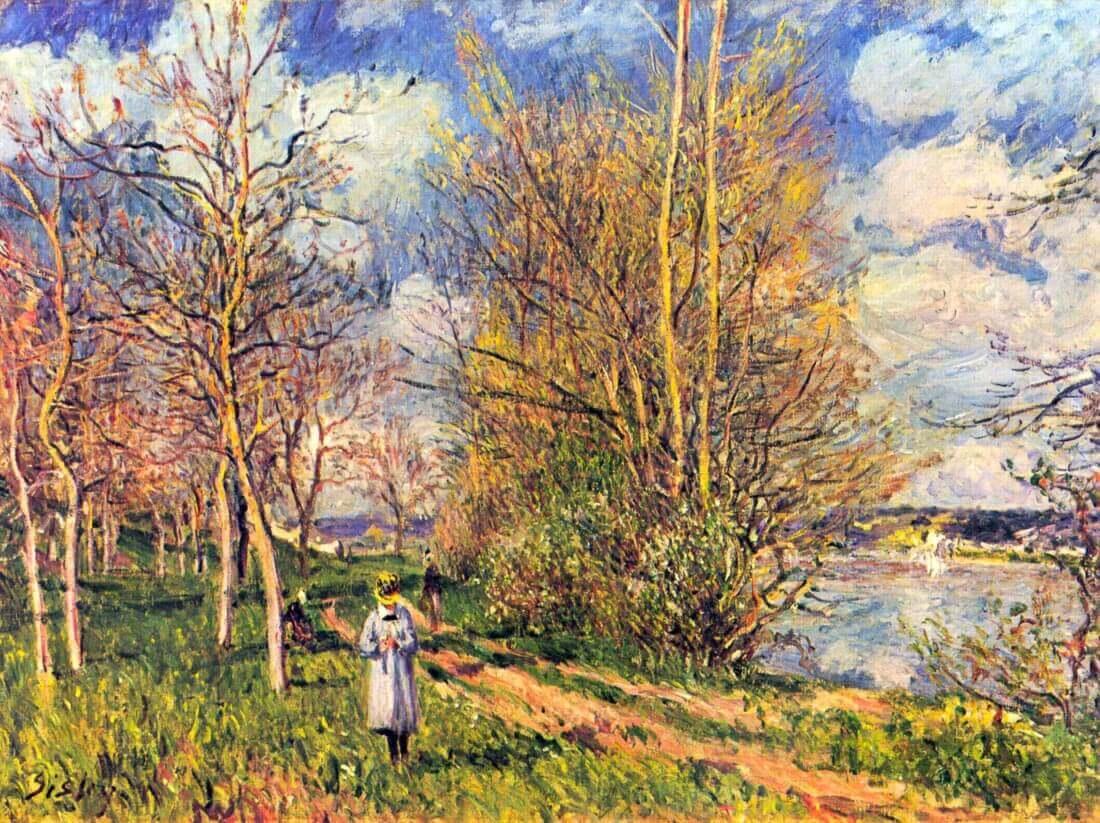 Les Petits Prés au printemps - Sisley