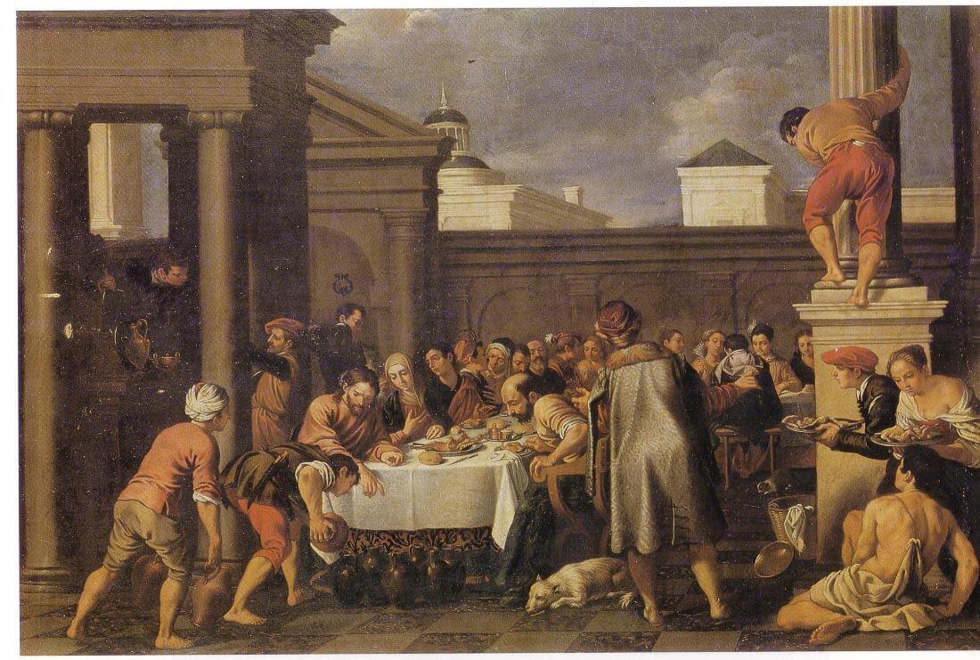 Les noces de Cana 1633 - Orrente