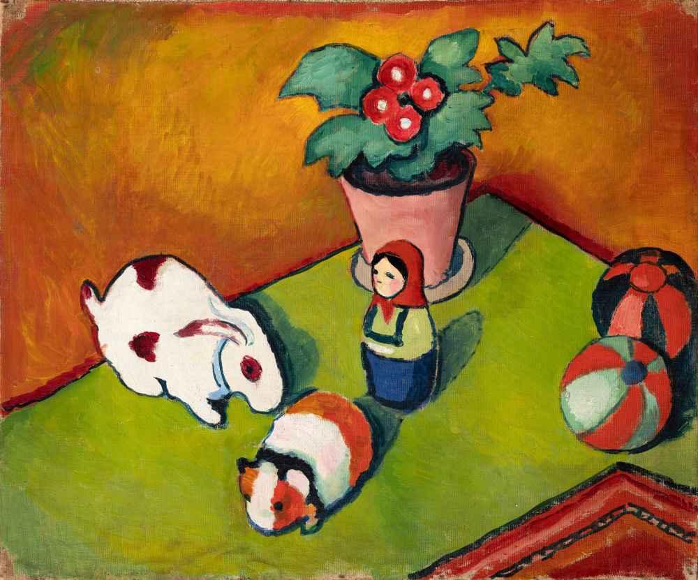 Little Walter's Toys - August Macke