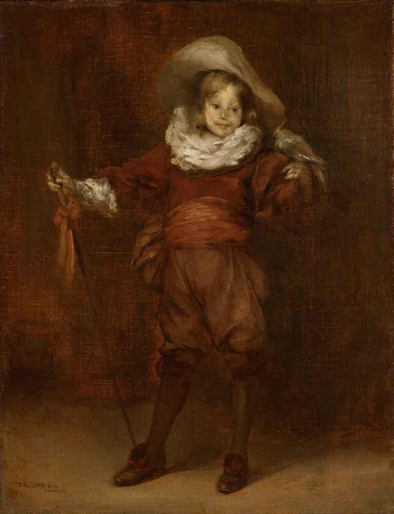 Little de Artagnan - Eugene Carriere