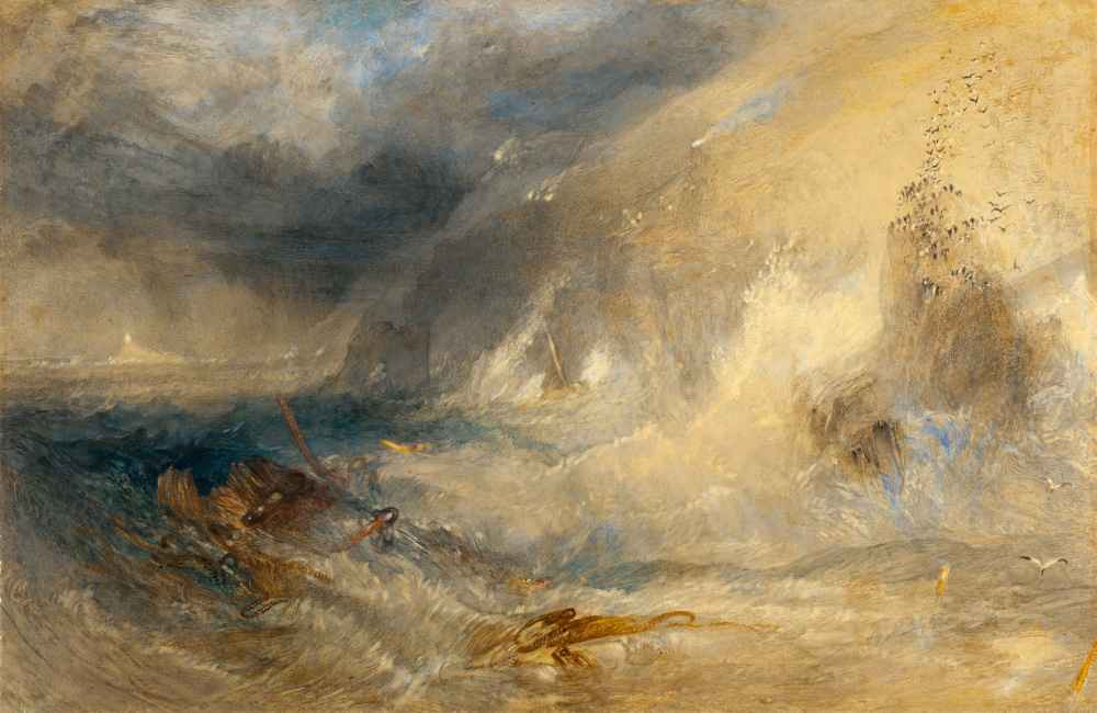Long Ships Lighthouse, Lands End - Joseph Mallord William Turner