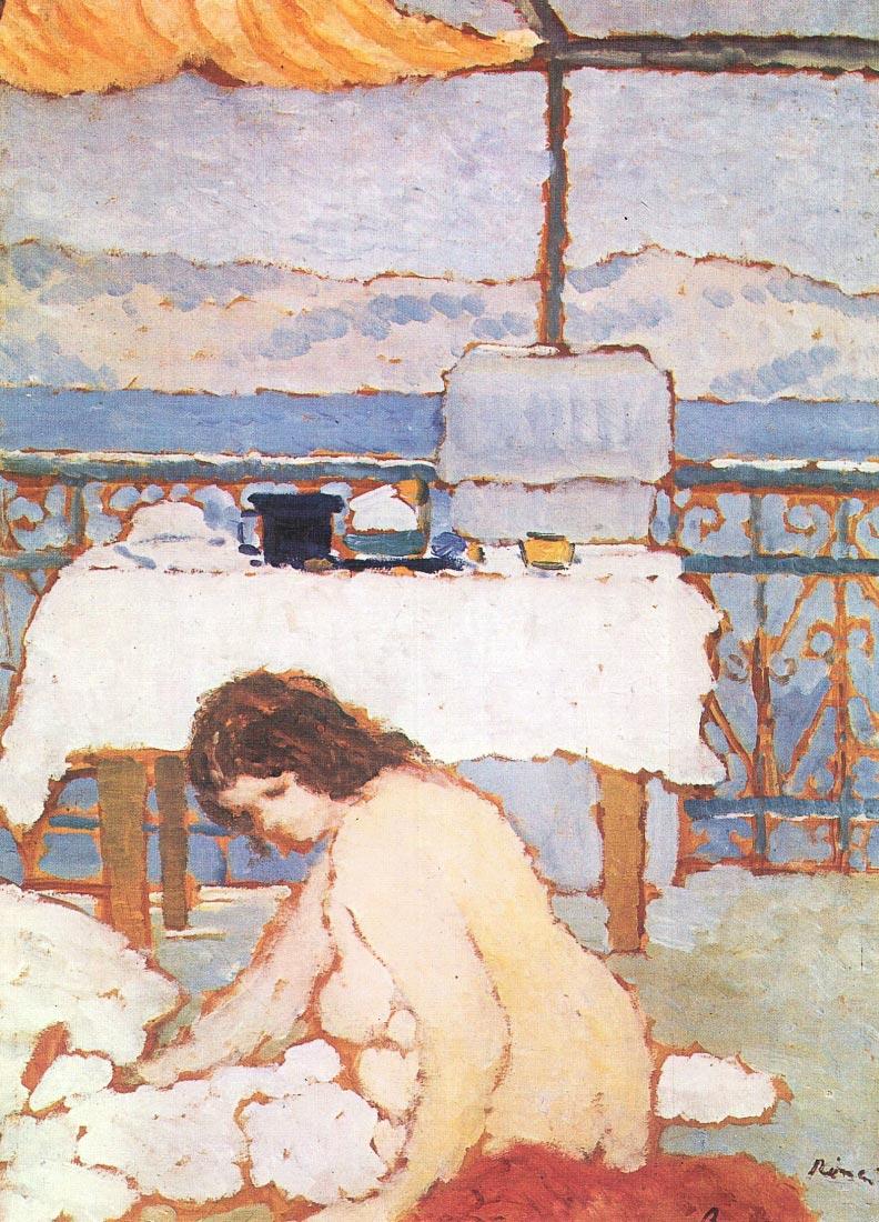 Love on the Terrace - Joseph Rippl-Ronai