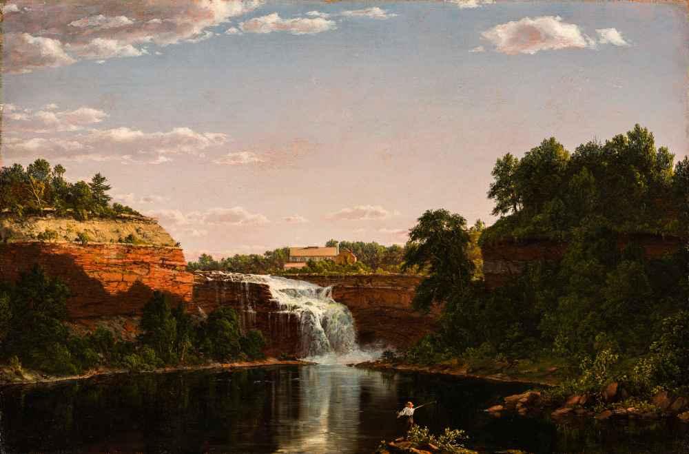 Lower Falls, Rochester - Frederic Edwin Church